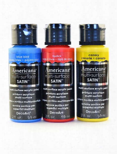 Americana Multi-surface Satin Acrylics 2 Oz. Cotton Ball