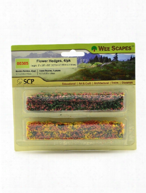 Architectural Model Flowers & Hedges Sunflowers 1 In. Pack Of 8