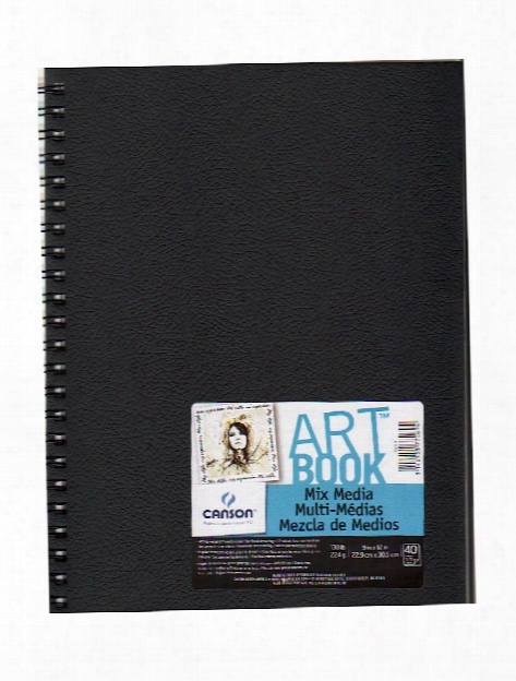 Art Book All Media Watercolor Sketch Books 5 1 2 In. X 8 1 2 In. Heavy Weight 40 Sheets