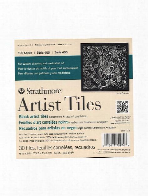 Artist Tiles Bristol Vellum Pack Of 20 4 In. X 4 In.