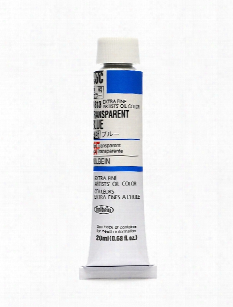 Artist Transparent Oil Colors Transparent Black 20 Ml
