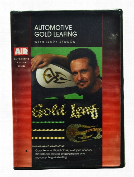 Auto Gold Leafing With Gary Jenson Dvd Each