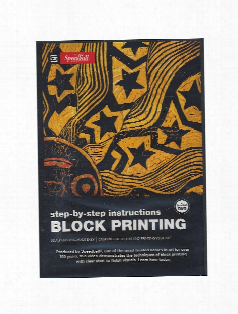 Block Printing Dvd Speedball: Step-by-step Block Printing