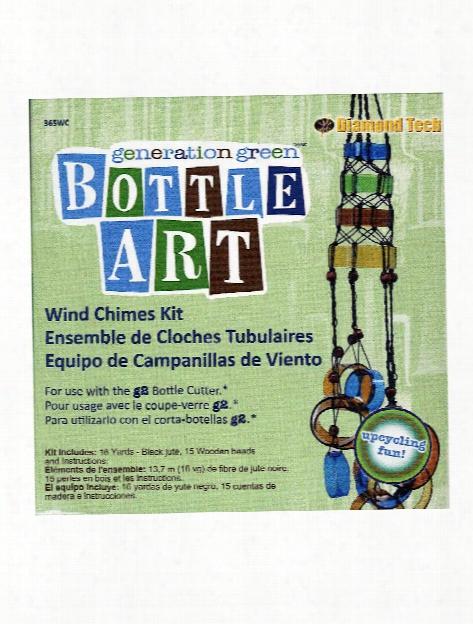Bottle Art Kits Wind Chime Each