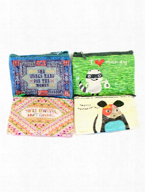 Coin Purses Barely Squeakin' By 3 In. X 4 In.