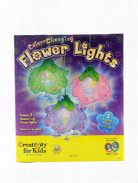 Color Changing Flower Lights Each