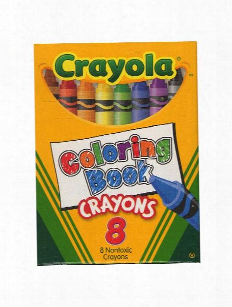 Coloring Book Crayons Box Of 8