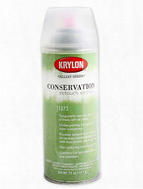 Conservation Retouch Varnish 11 Oz. Can