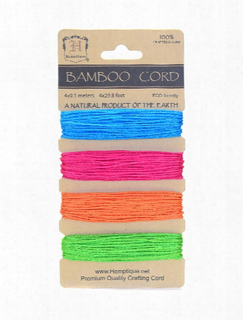 Cord Cards Hemp Rope 4 Mm Natural