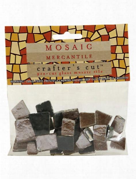 Crafter's Cut Gem Mosaic Tiles Shimmer Misty Rose 1 6 Lb. Bag