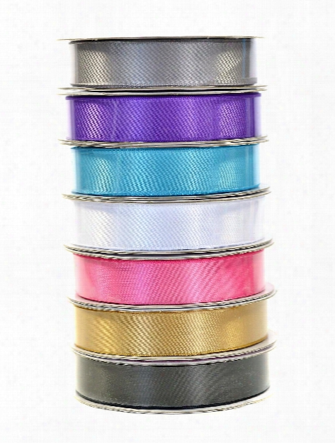 Double Face Satin Ribbon 5 8 In. X 8 Yd. Spool Turquoise