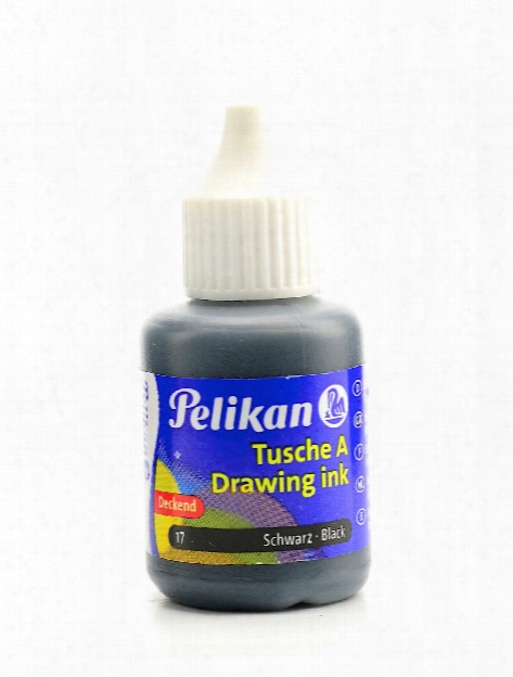 Drawing Ink Black 1 Oz.