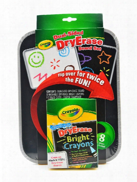 Dua-lsided Dry Erase Board Set Each