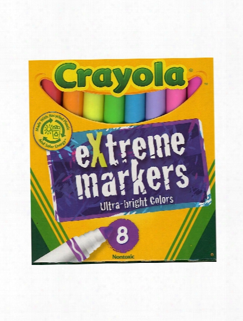 Extreme Markers Set Of 8