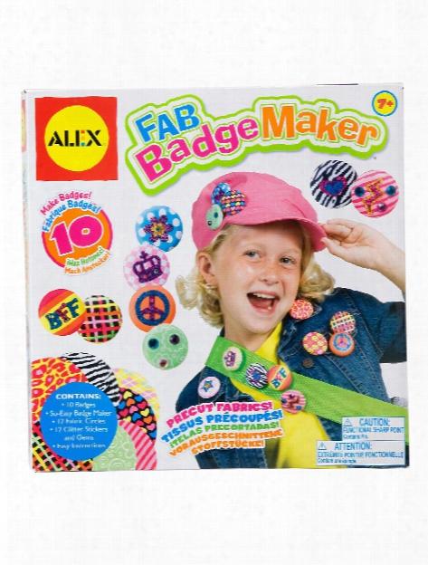 Fab Badge Maker Kit Each
