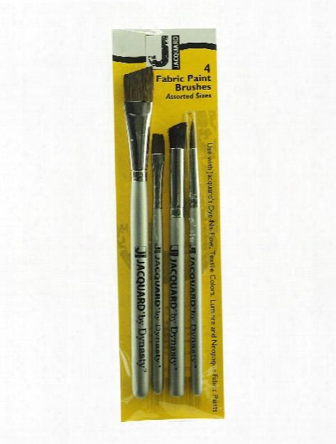 Fabric Brushes Set Of 4