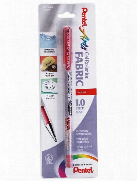Fabric Gel Roller Pens Black