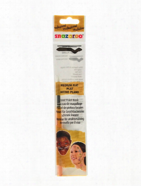 Face Painting Brushes Assorted Starter Pack Set Of 3
