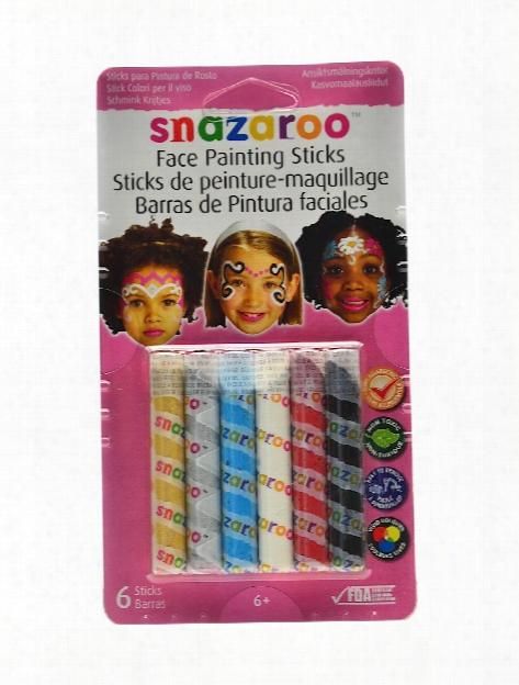 Face Painting Sticks Sets Unisex Set Of 6