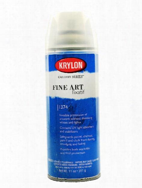 Fine Art Fixatif 11 Oz. Can