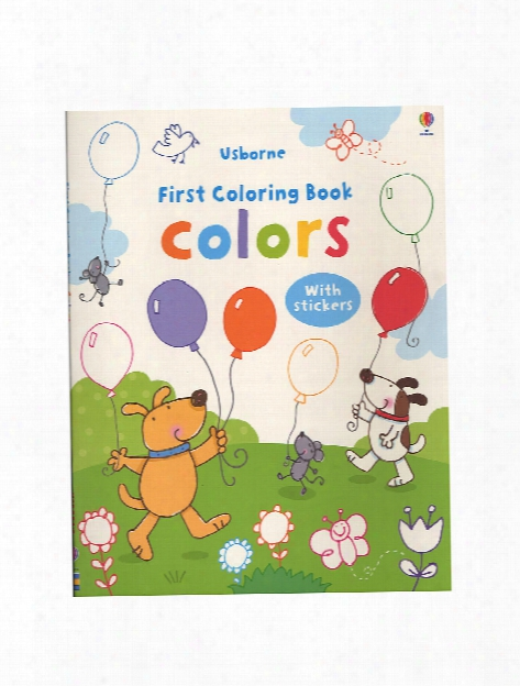 First Sticker Coloring Books Zoo