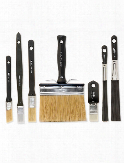 Free-style Large Scale Brushes Universal Angle 1 In. Short Handle