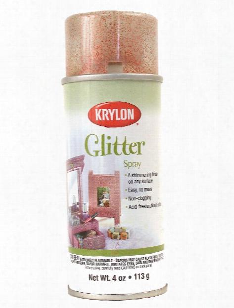 Glitter Spray Glistening Gold