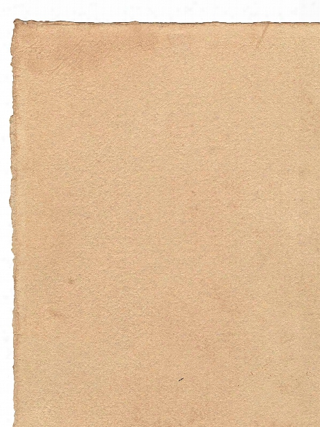 Handmade Hemp Paper White 20 In. X 30 In. Sheet