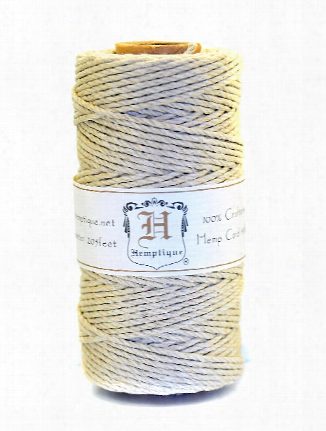 Hemp Spools 10 Lb. 62.5 M Natural