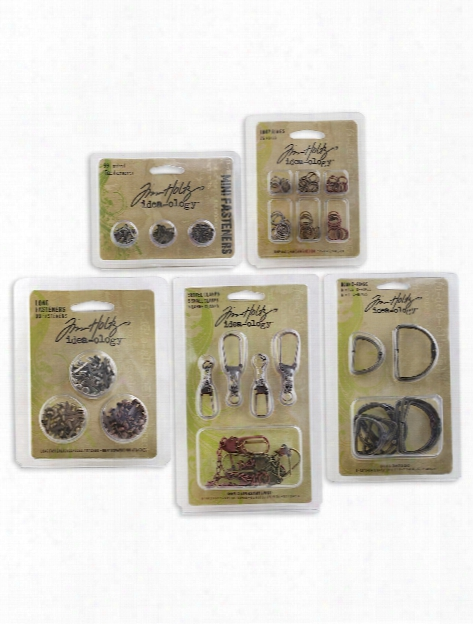 Idea-ology Fasteners Pack Of 6, 6 Fasteners Buckles