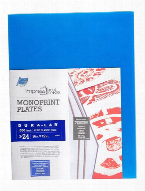 Impress Print Media Monoprint Plates Pack Of 3 .030 In. 4 In. X 6 In.