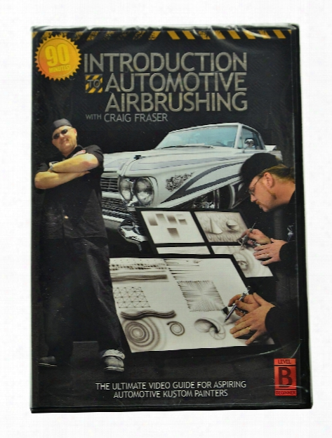 Intro Automotive Airbrushing Dvd Each