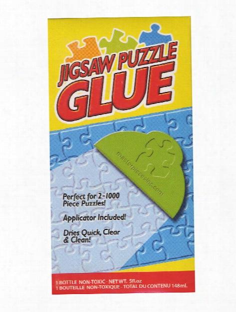Jigsaw Puzzle Glue 0.5 Oz. Bottle