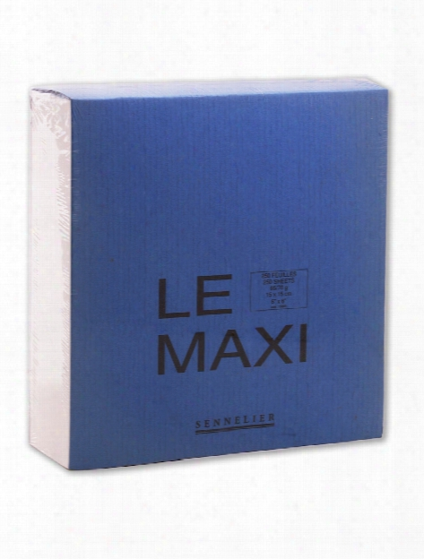 Le Maxi Block Drawing Pads 6 In. X 6 In.