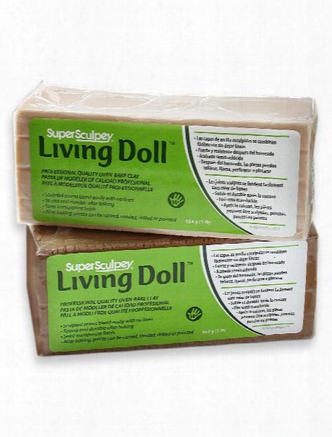 Living Doll Modeling Compound Beige 1 Lb.