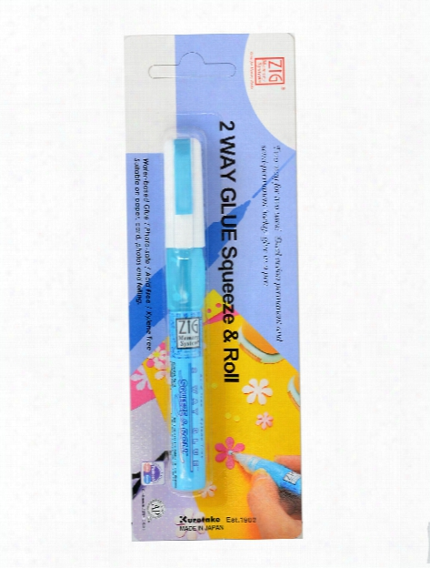 Memory System 2-way Glue Pens Squeeze & Roll 1 Mm