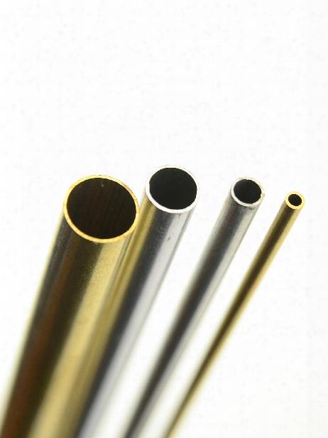 Metal Tubing Brass 1 8 In. X 1 4 In. X 12 In. Rectangle