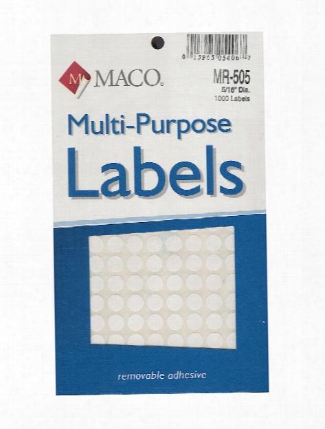 Multi-purpose Handwrite Labels Rectangular 7 8 In. X 1 1 4 In. Pack Of 500