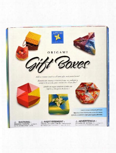 Origami Gift Boxes Kit