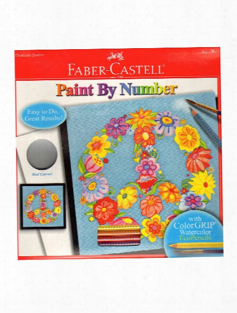 Paint By Number With Watercolor Pencils Kits Unicorn Foil Fun