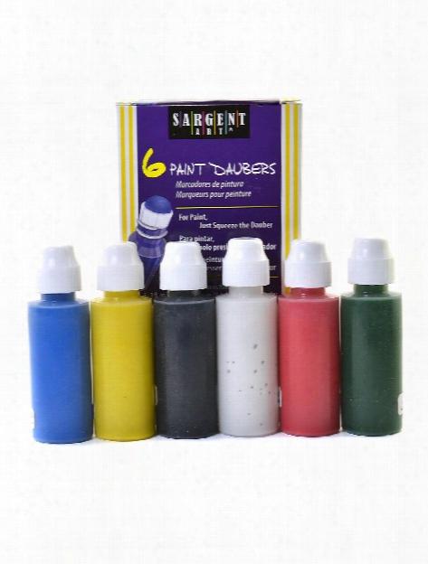Paint Daubers Washable Set Of 6