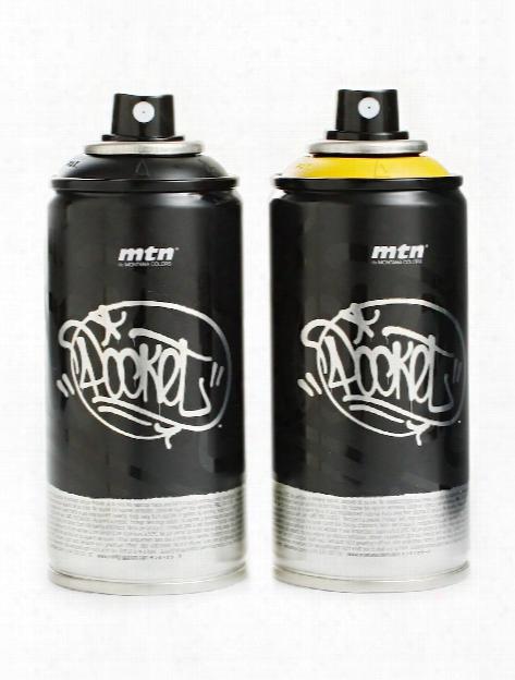 Pocket Spray Paint Black 150 Ml