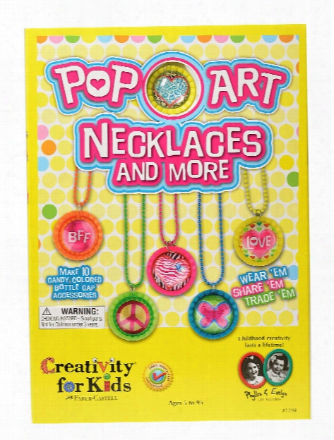 Pop-art Necklaces And More Each