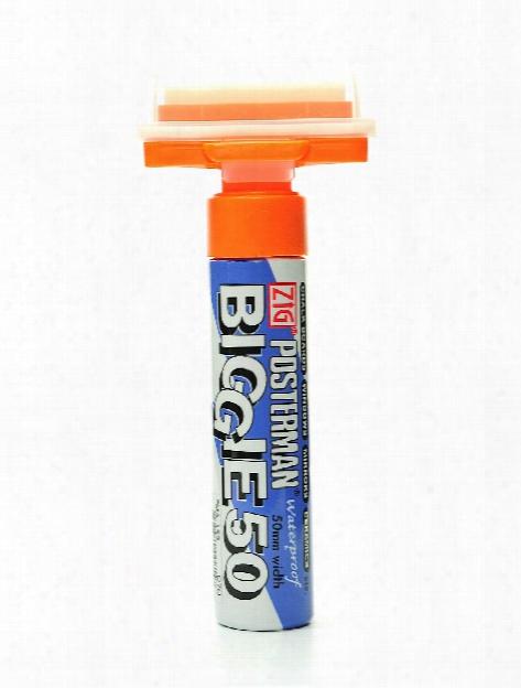 Posterman Biggie 50 Markers White