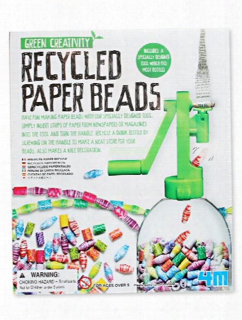 Recycled Paper Beads Each