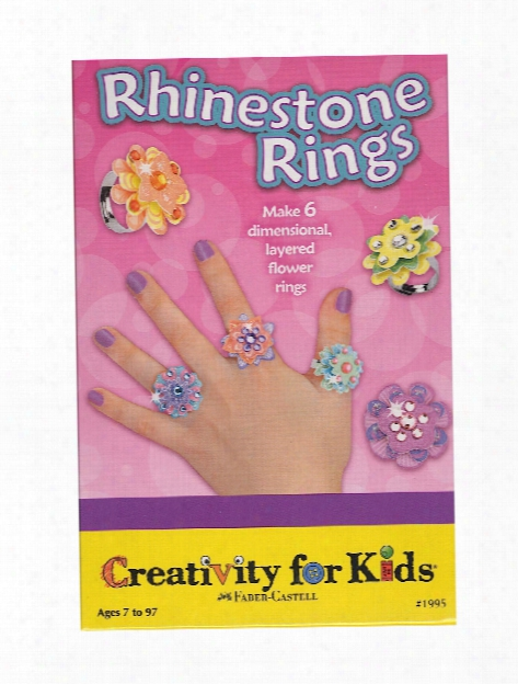 Rhinestone Rings Mini Kit Each