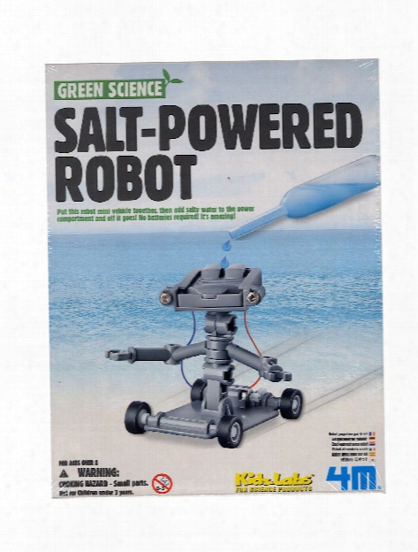Salt Water Power Robot Each