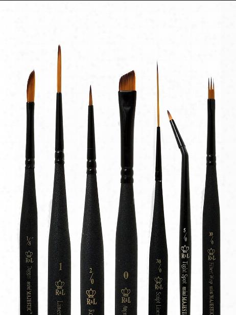 Series 4200 Mini-majestic Brushes 12 0 Angular Shader