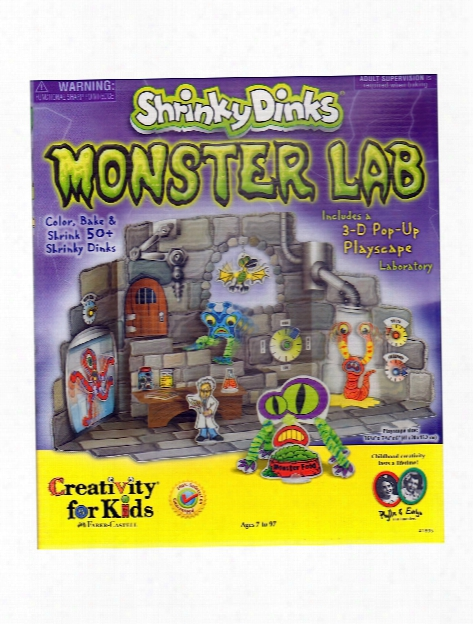 Shrinky Dinks Monster Lab Each