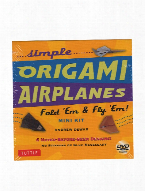 Simple Origami Airplanes Mini Kit Each